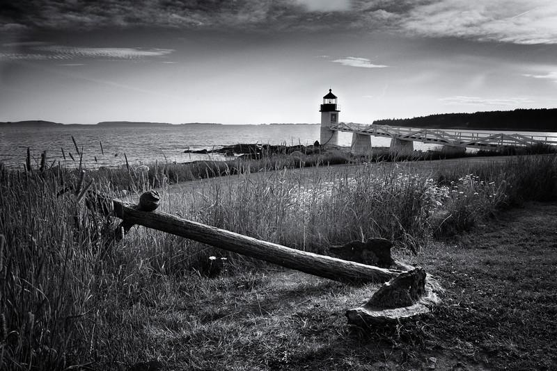 Anchored at Marshall Point Light
