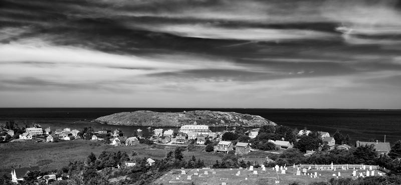 Overlooking Monhegan and Manana Island