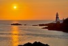 East Quoddy Lighthouse at Sunrise