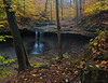 """<center><font face=""""Century Gothic"""" size=""""+1"""" color=""""#FFFFFF"""">Blue Hen Falls</font></center><font face=""""Century Gothic"""" size=""""+1"""" color=""""#3366FF""""><center><font color=""""#377915"""">Cuyahoga Valley National Park, Ohio</font></center></font>"""
