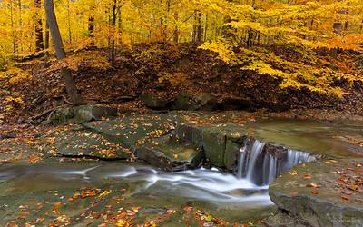 Blue Hen Falls (upper falls)Cuyahoga Valley National Park, Ohio