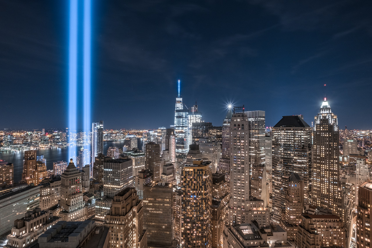 Tribute in Light 2016 (55 Water Street) FiDi