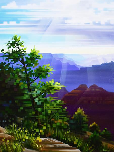 Sunbeam Lookout - Grand Canyon, Arizona