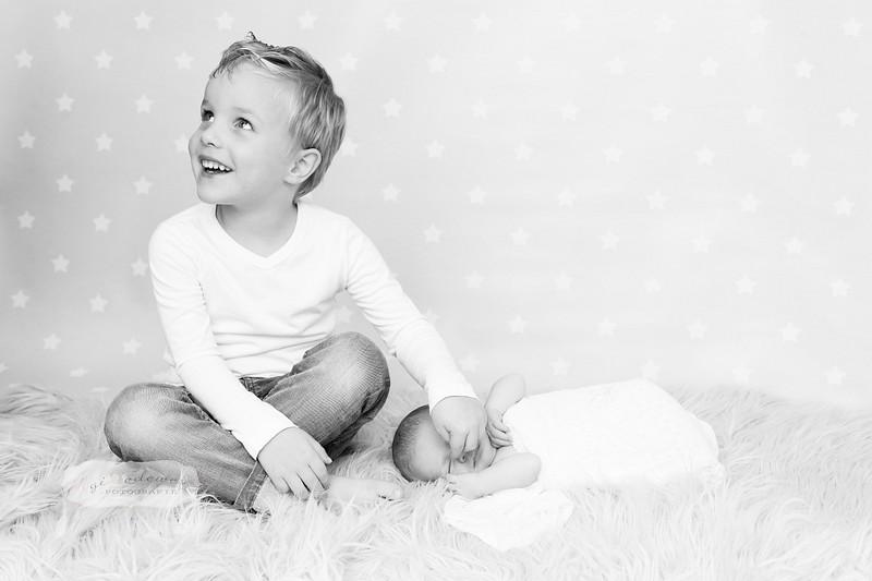 Newborn fotoshoot met ouders