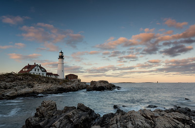 Portland Head Lighthouse, Maine. HM in Travel Prints, N4C January 2018.