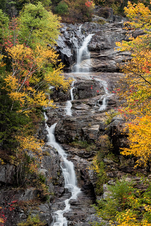 Silver Cascade in Crawford Notch State Park. 1st Place in Nature Prints, N4C January 2014.