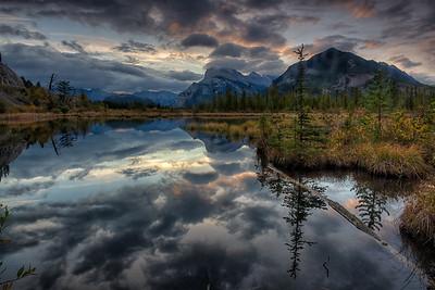 Vermilion Lakes Sunrise