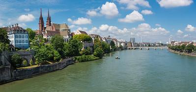 Basel, Switzerland on the Rhine River