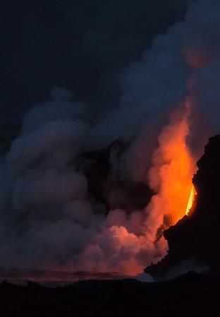 Firehose Lava by Night.