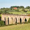 170617  .70810 heads the 6C97 16:40 Westbury to Liskeard via Lostwithiel over Moorswater Viaduct,taken by the assistant