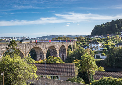 051017  FGW 125 heads over Coobe bt saltash Viaduct