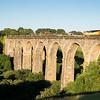 170617  .70810 heads the 6C97 16:40 Westbury to Liskeard via Lostwithiel over Moorswater Viaduct