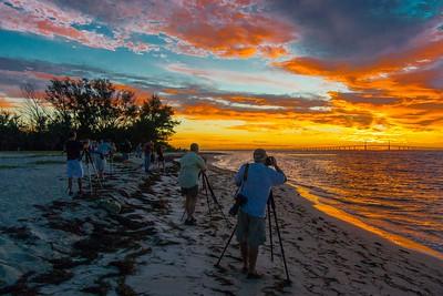 WWPW Sunrise at Ft DeSoto FL