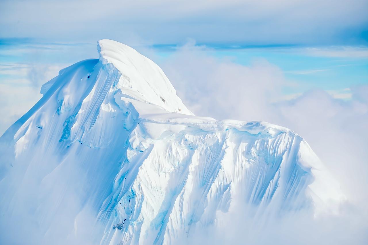 Mt.  Denali: Wickersham Wall,  Denali National Park