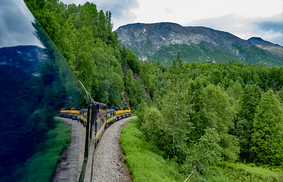 Alaska Railroad, Denali to Fairbanks