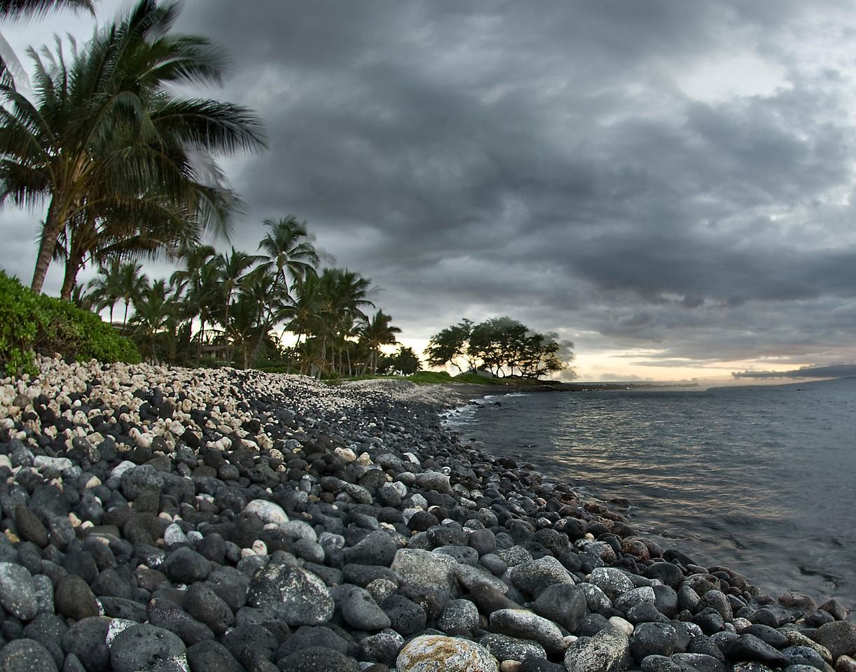 Secret Beach Sunrise<br /> Maui, Hawaii