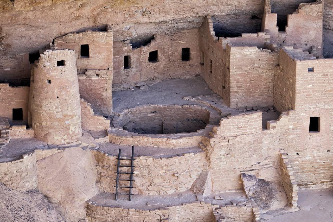 Cliff Palace,  Mesa Verde , CO