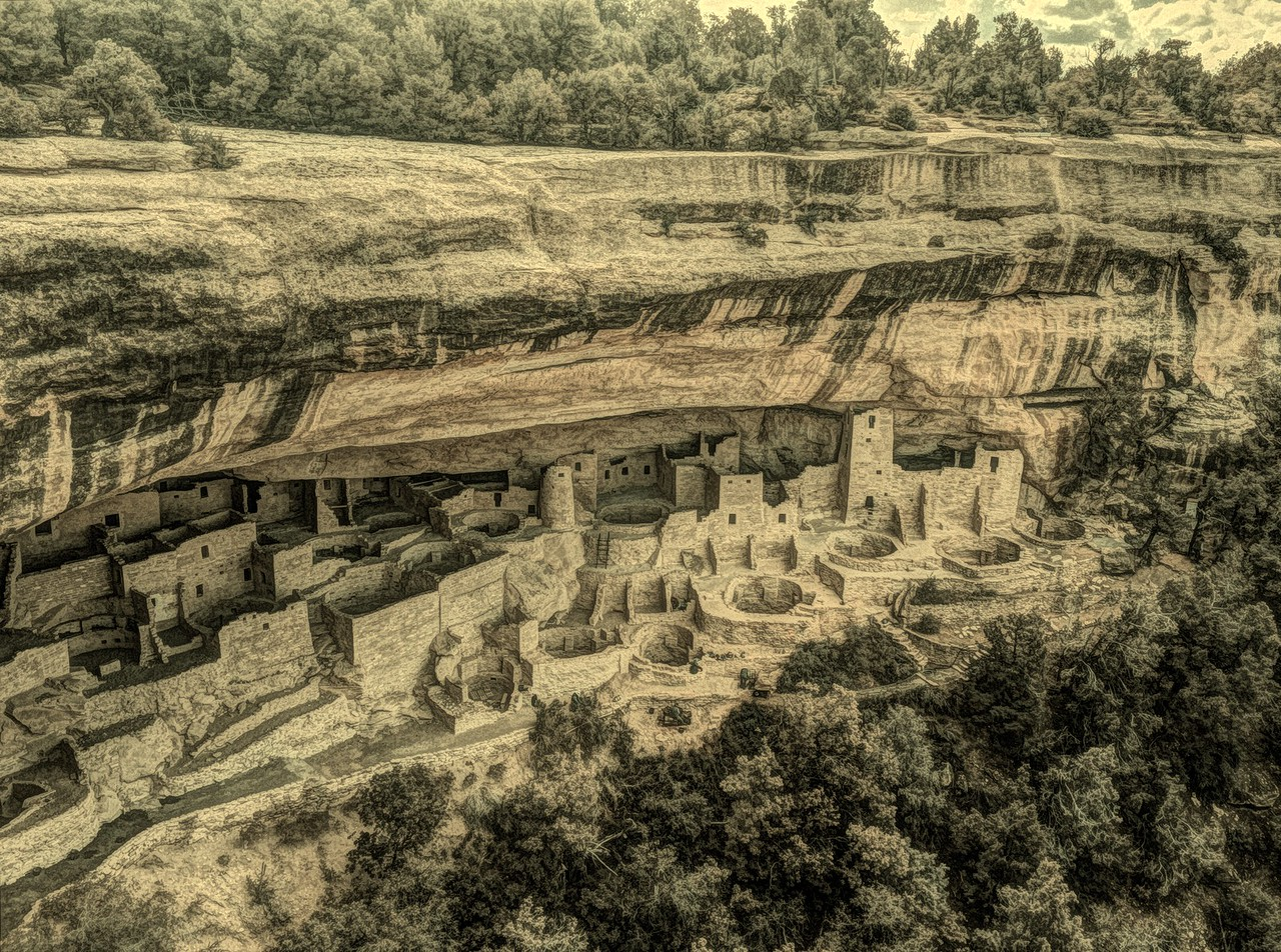 Cliff Palace. Mesa Verde NP, CO