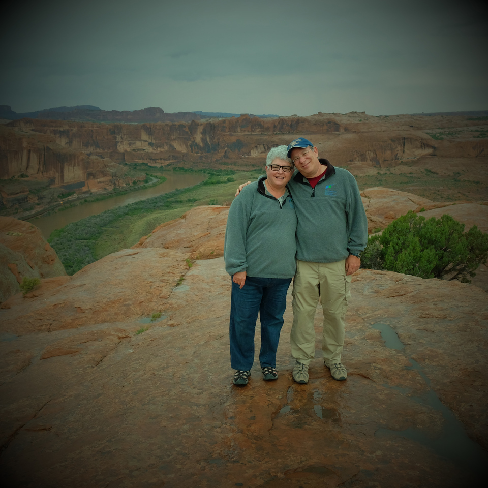Newt and Sue,   Moab, UT