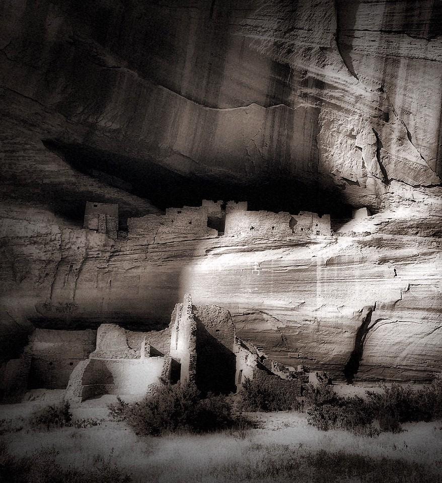 White House Ruin. Canyon de Chelly, AZ