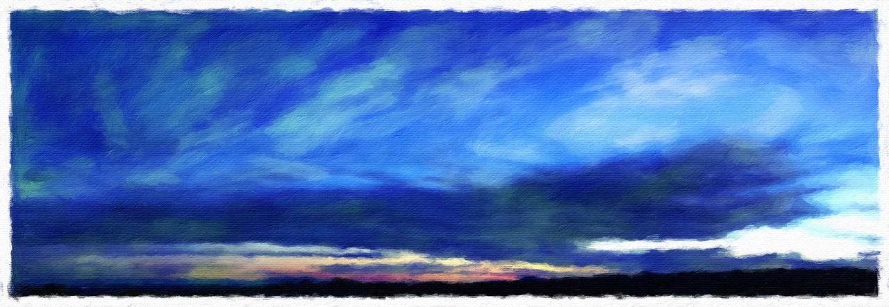 Sunset. Mesa Verde NP, CO