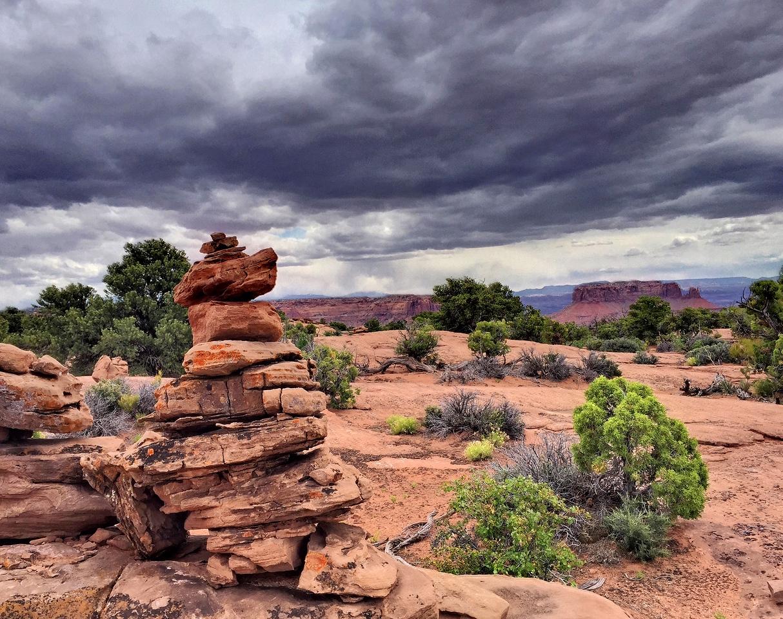 Murphy Overlook. Canyonlands NP, Moab,  UT