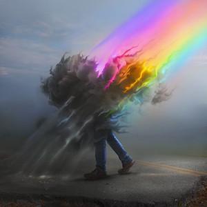 Rainbow losing its color