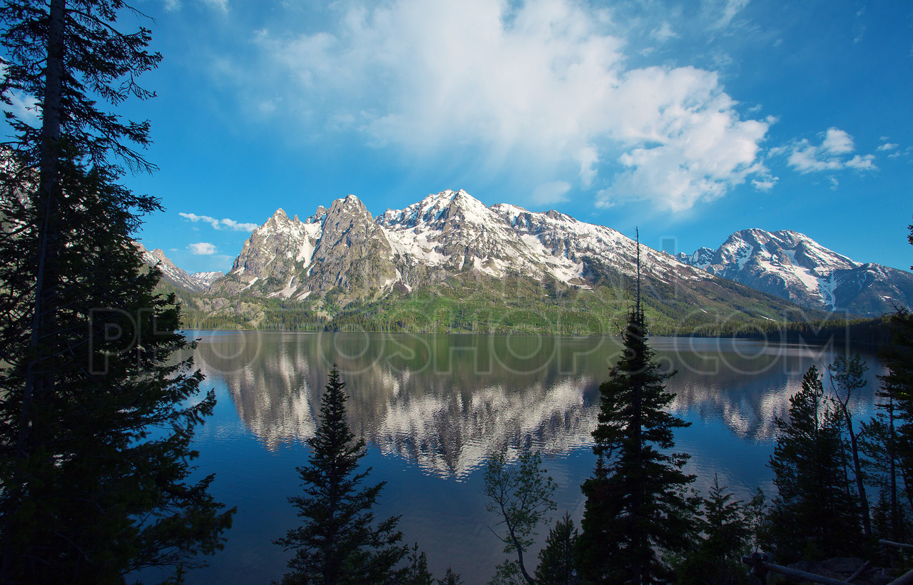 Jenny Lake in Wyoming