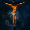 Fractal Jesus on Cross