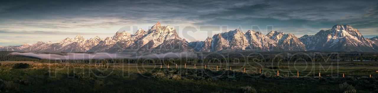Morning at the Grand Tetons