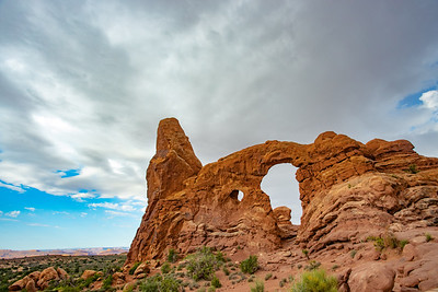 Turret Arch in Utah