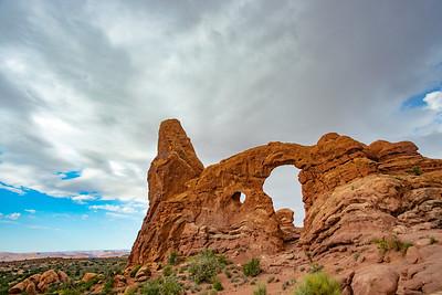 Turret Arch in Utah