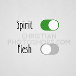 Alive to the Spirit and dead to flesh