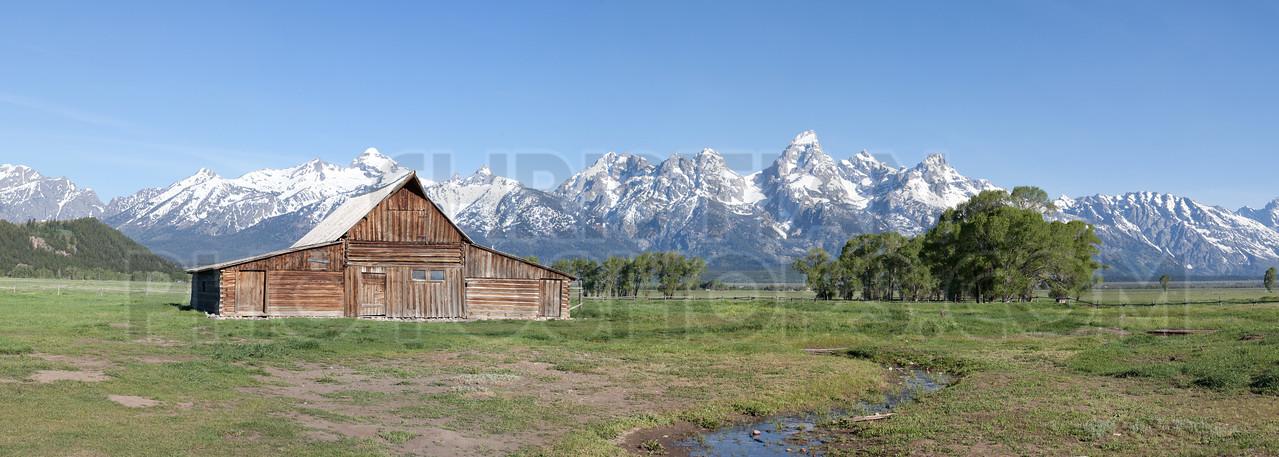 Moulton Barn at the Grand Tetons