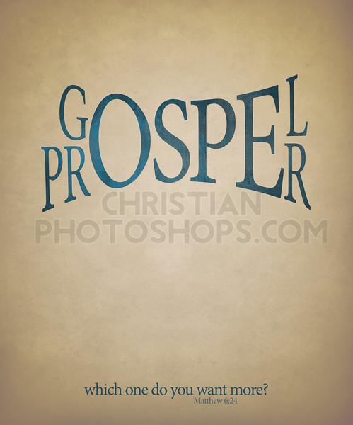 Gospel or prosper