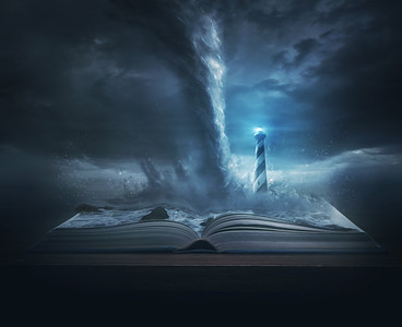 Lighthouse and Tornado