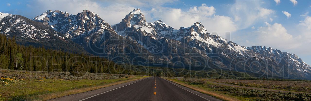 Road to the Grand Tetons