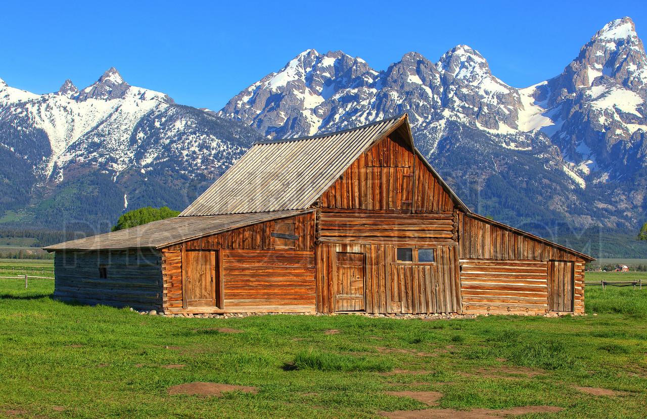 Moulton Barn in Wyoming