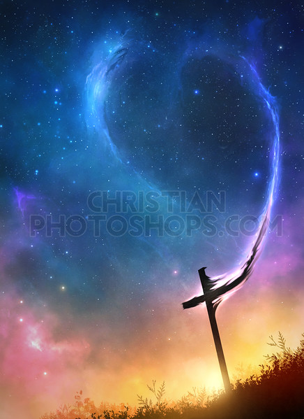 Cross flowing into space