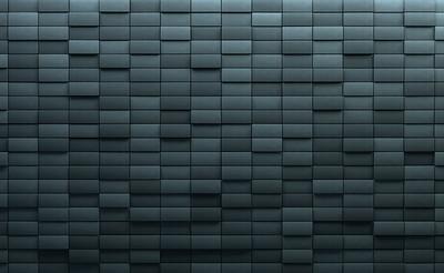 Background with blue bricks