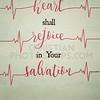Heart monitor word art