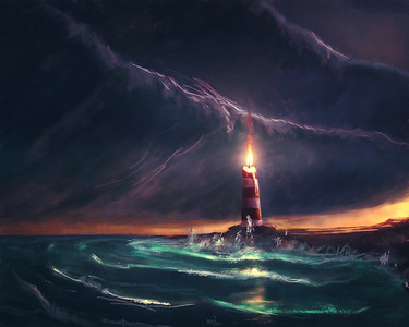 Candle Lighthouse