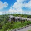Curvy mountain road