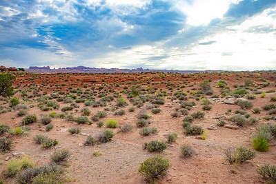 Desert landscape in Utah