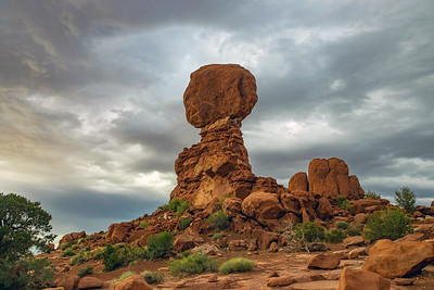 Balanced Rock in Utah