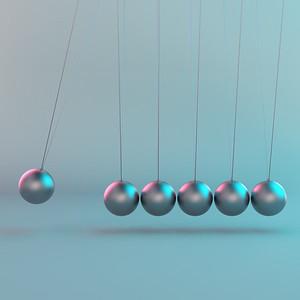 Balancing Balls on Newtons Cradle