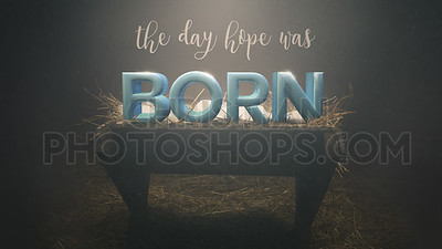 Hope was born