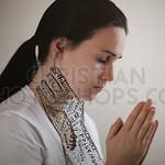 Praying while being choked