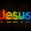 Jesus word art