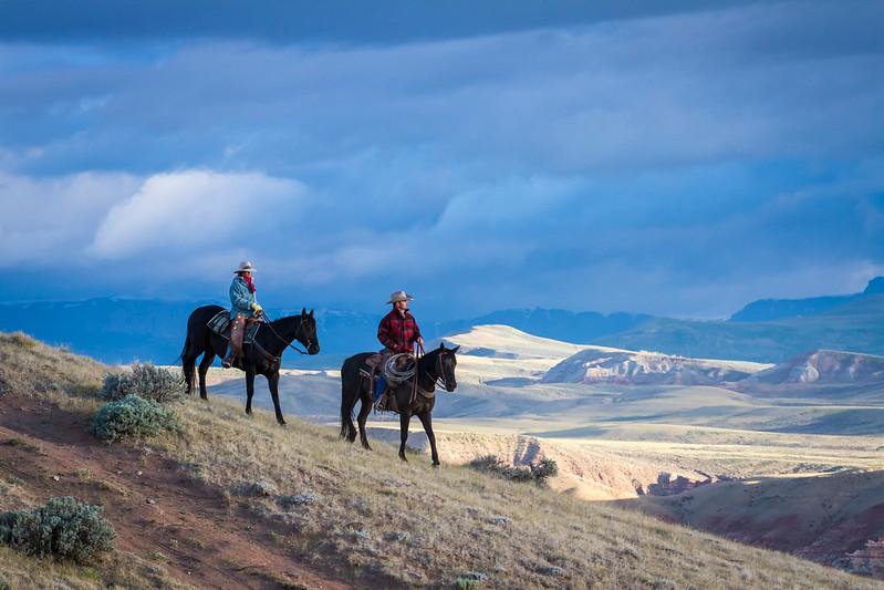 Wyoming Badlands at Sunrise